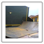 Metal Mini Ramp Halfpipe